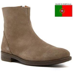Robert Wayne Jacob Men's Sand Suede Boots